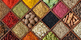 Colorful spice background. - 197455517