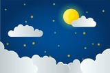 starry night sky background for decoration