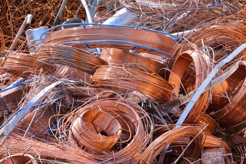 mata magnetyczna Metal gotowy do recyklingu