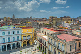 View over Havana's roofs at Plaza Vieja