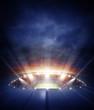 Leinwanddruck Bild - The stadium