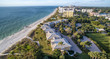 Quadro Aerial view of Naples Beach, Florida