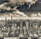 Aerial view of Midtown Manhattan, New York City