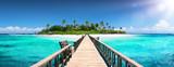 Tropical Destination - Maldives - Pier For Paradise Island - 197558567