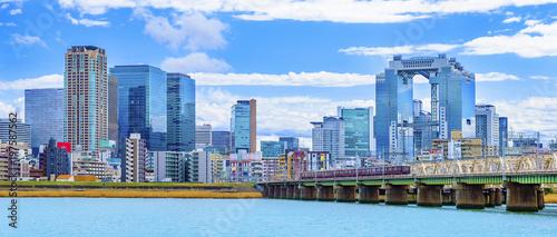 Foto op Plexiglas Pool 大阪 淀川 都市風景