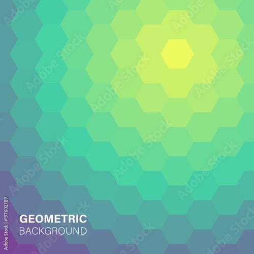 Nowożytna futurystyczna abstrakcjonistyczna geometryczna pokrywa