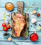 Sirloin beef steak - 197604571