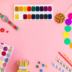 colorful objects for creative kid © shapovalphoto1