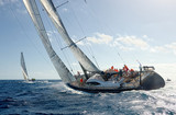 Sailing yacht race. Yachting. Sailing - 197608177