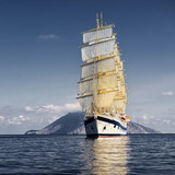 Sailing ship. Cruises. Yachting. Sailing - 197650164