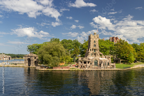 Foto op Plexiglas Parijs Boldt Castle Island in thousand islands (Canada)
