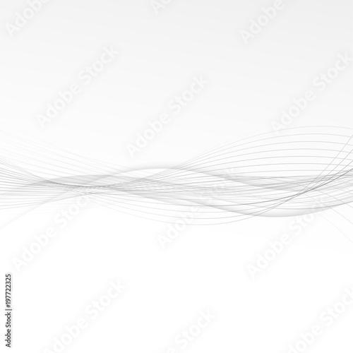 Grey modern minimalistic soft lines fashion background