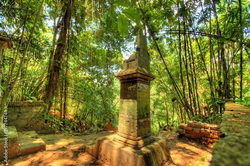 Fotobehang Bali Elephant Cave temple and forest in Bali