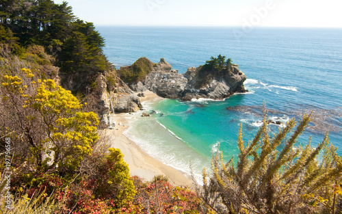 Pfeiffer Beach in Big Sur