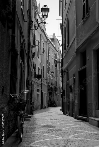 Fotobehang Smalle straatjes Streets of Italy