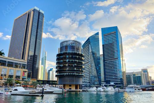 Fotobehang Dubai Skyscrapers of Dubai Marina