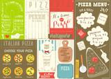 Pizza Menu Placemat - 197894971