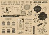 Template Menu for Burger House - 197895149
