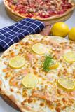 pizza au saumon fumé - 197902364