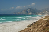 Plage près de Salalah, Oman