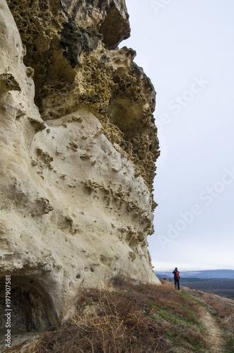 Hills in Crimea near Bakhchisarai (Crimea)