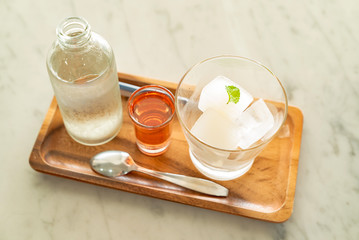 Lime ice Cube