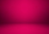 Empty pink studio room, used as background for display your products, vector
