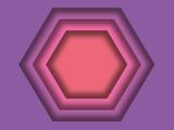 Violet to pink paper gradient