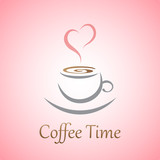 Coffee love concept