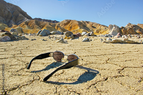 Foto op Canvas Beige Death Valley California