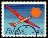 Postage stamp.  Glider Seal.