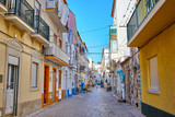 Street view of Nazare, Portugal