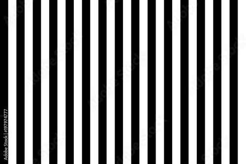 Pattern stripe seamless black and white. Vertical stripe abstract background vector.