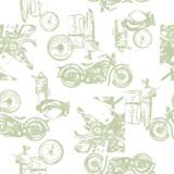 古いオートバイのパターン,