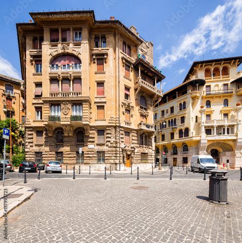 Coppede Quarter, Rzym, Włochy