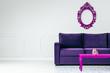 Ultra violet pantone interior