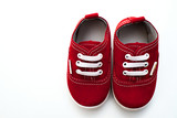 baby shoes, kids, parent, blue, boy, sneakers, toy, copyspace, wooden