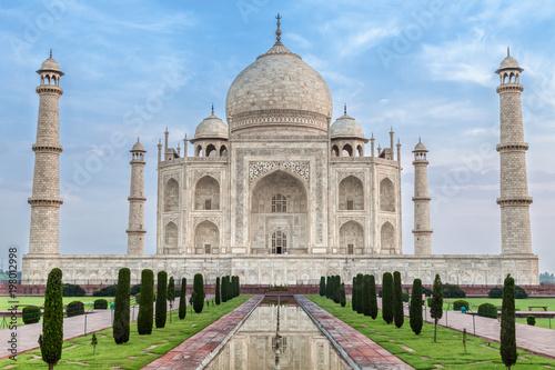 Foto Murales Famous Taj Mahal, India
