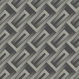 Abstract Diagonal Striped Ornament. Seamless Minimal Pattern - 198023177