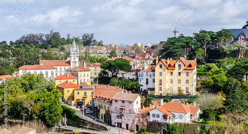 Cityscape of Sintra. Portugal
