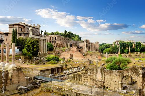 Fotobehang Rome Ruins of Rome