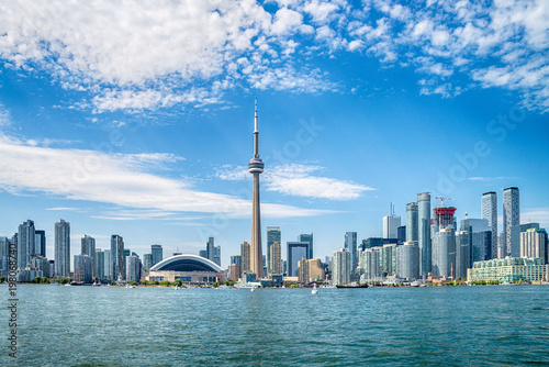 Fotobehang Toronto Skyline of Toronto in Canada