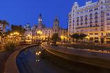 Valencia City Hall on Plaza del Ayuntamiento in Valencia