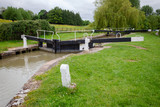 Seend Top Lock on Kennet and Avon Canal South West England UK - 198080399
