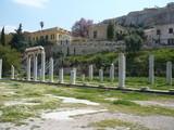 Agora Athen, Griechenland - 198085746