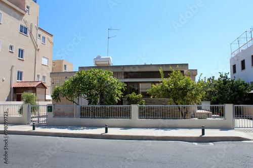 Fotobehang Cyprus City view of Larnaca, Cyprus