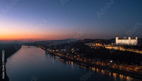 Staande foto Stockholm Bratislava