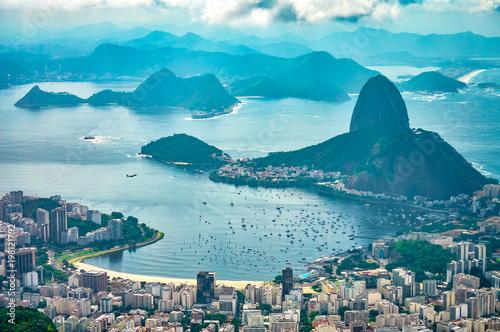 Aluminium Rio de Janeiro Praia de Botafogo e Morro da Urca