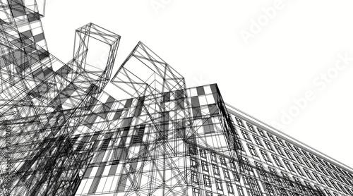 nowoczesna architektura budynku