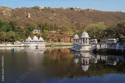 Foto Murales The city of Lakes - Udaipur, Rajasthan, India